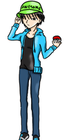 Pokemon Trainer Mitch by ChippewaOkami