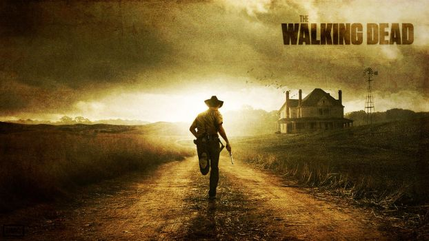 The Walking Dead Wallpaper by skywalkerdesign