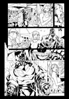 X-Men Curse of the Mutants by Paco Medina by TheInkPages