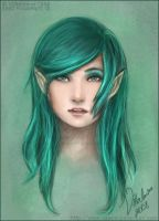 Emerald by vilhelmina