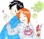Luffy x Nami - Welcome Spring!! by IshidaYuki