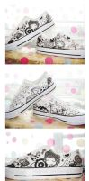 sweethouse blk x wht by aiwa-9
