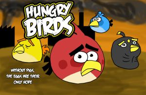 Hungry Birds -Parody- by Almoyan