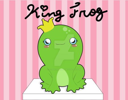 Kingfrog by CogsNCreatures