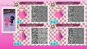 Pink Ice Skater Dress by GumballQR