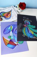 the rainbow collection 5 by bluevelvetine