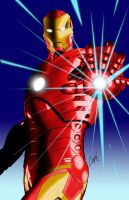 iron man by jorgecopo