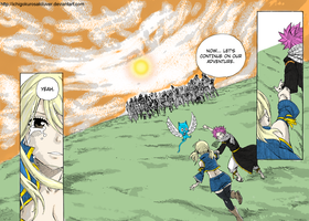 Fairy Tail 337 - Let`s Continue Our Adventure by IchigoKurosakiLuver