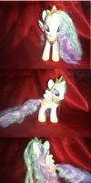 Princess Celestia Custom G4 by GlitterFox