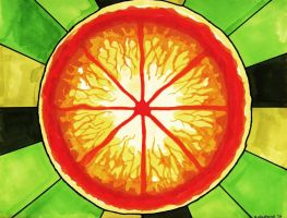 The Conceptual Grapefruit by Ryerd