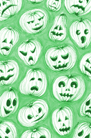 Colour changing pumpkins gif by saoirsesushi