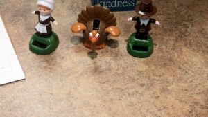 Pilgrims and Turkey Figurines by BigMac1212
