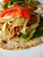 Pulled Pork Fajitas II by acquiredflavor
