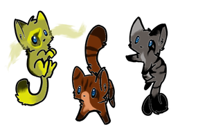 Cat adoptables by CenturiesForGlory