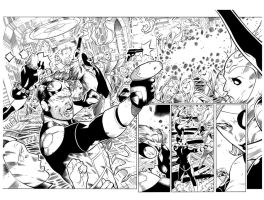 Mighty Avengers 35 page 13 14 by Csyeung