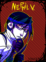 New ID For NephilV by Krooked-Glasses