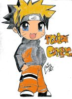 HBD Naruto color by Eniirose