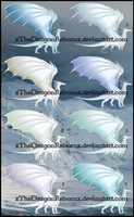 IceWing Adopt 3-7-17 [ALL SOLD] by xTheDragonRebornx