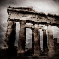 Athena's temple by lostknightkg