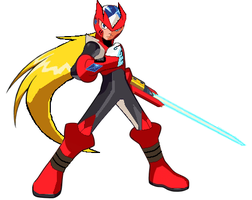 Megaman battle network zero by CHAMPs2