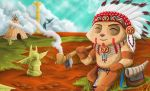 Chief Indian Teemo by BobyBrad