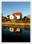 Winter house reflection by Sasse-Deviant