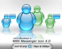 MSN Messenger Icon 4 by weboso