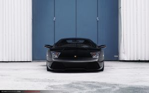 Lambo LP640 - Blue wall. by dejz0r
