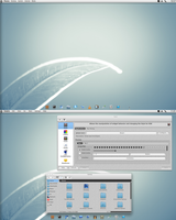 KDE Clean and Simple by CraazyT