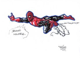 Spidey for Keziah by guillomcool