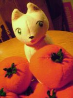 Spain cat with tomates by daggerhime