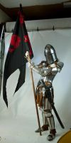 Armour and Banner by magikstock