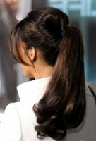 Bottom Curled High Ponytail by stacytm