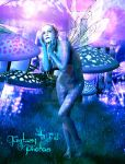 Pandora's Blue Fairy by juliet981