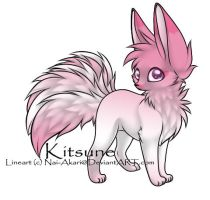 Kitsune Adoptable ~ 19 by BiahAdopts