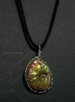 Ammonite Pendant by Klarenden