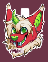 Badge Commission for BirdTrash by MGMaguire