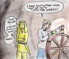 Spin the Wheel! by Gwenniel