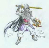 Golden Sun - Saturos by PrinceRoy1990