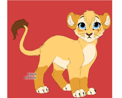 my lion by NeonDance123