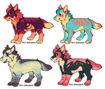 Chibi Dog Adopts OPEN by LongLiveRaka