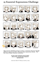 25 Essential Expressions meme by Black-Curls