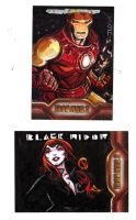 Iron Man Sketch Cards-3 by JasonLatour