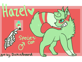 Hazel for tenten reff by DickinAround