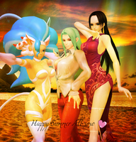 Best divas wishes Happy Summer by PiersRadames