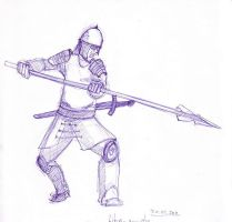 warrior a4 by concho