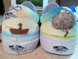 The Midsummer Station Shoes by owlsomeart