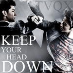 TVXQ: Why (Keep Your Head Down?) by Awesmatasticaly-Cool