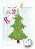 Christmas Card by mene