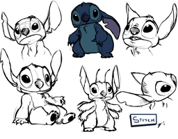 Stitch Practice by alexyoshida
